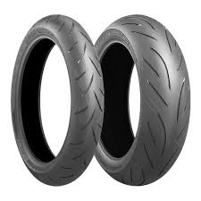 Double White Wall Motorcycle Tires Bridgestone Battlax Hypersport S21 Rear Tires Revzilla