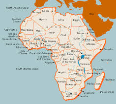 africa map 54 countries algonquin college expedition africa small world big picture