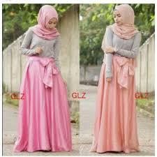 rok muslimah jual glamz setelan karin muslimah baju rok pashmina