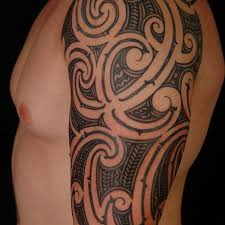 modern bicep tattoo 3 tribal bicep tattoo on tattoochief com