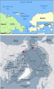 Alaska And Russia Map by July 2013 Polarbearscience
