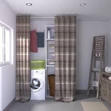 cache rideau cuisine cacher le désordre à moindre frais 4murs