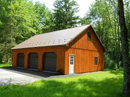 Barn Style Garages by We Build Garages Precise Buildings