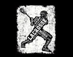 8x10 vintage lacrosse wall lacrosse stick vintage
