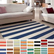 Striped Area Rugs 8x10 Navy And White Striped Area Rug Cievi Home