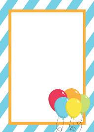birthday invitations print images invitation design ideas