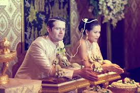 thai wedding dress traditional thai wedding by brosnan photographic fly away