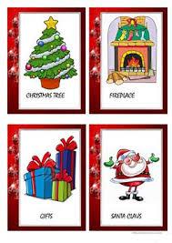 40 free esl christmas card worksheets