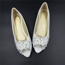 wedding shoes size 12 peep toe shoes 2 weddbook