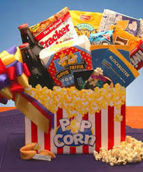 popcorn baskets florida ft laud miami boca theme gift baskets popcorn