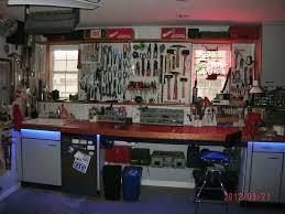 garage workbench garage workbench and storage ideas great tidy
