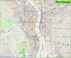 Portland On Map Of Usa by Portland Maps Oregon U S Maps Of Portland