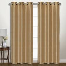 Drapes With Grommets United Curtain Co Vintage Solid Blackout Grommet Curtain Panels