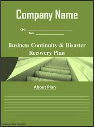 continuity plan template