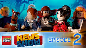 halloween edition with the scooby doo gang lego news show