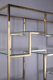 Brass Bookcase Brass And Glass Bookcase By Kim Moltzer 1938 2015