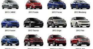 ford cars and trucks 2013 ford line up which is your favorite ford cars suv truck