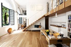open plan living stairs t house in sant u0027ambrogio milan by