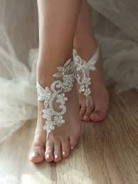 wedding barefoot sandals best 25 wedding barefoot sandals ideas on