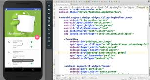 android layout collapsemode mobile application development blogs mindinventory