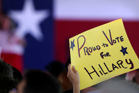 thousands turn out to support hillary clinton in san antonio san