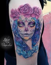 catrina tattoo 2 sugar skull tattoo youtube