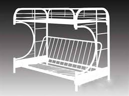 white metal bunk beds frame trends white metal bunk beds