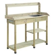 potting table with sink potting bench with sink wayfair