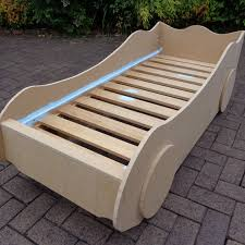 diy kids u0027 racing car bed woodworking plans by buildeazy on etsy