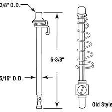 Slimfold Closet Doors Slimfold Pivot Rod Assembly Metal Bi Fold Door N 6637 Door