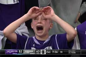 Tears Meme - crying northwestern kid fan becomes march madness meme