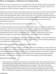 charity commitment letter how to organize a motorcycle charity ride pdf organizing a motorcycle charity ride requires some hard work and a lot of time to get
