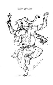 gallery lord ganesha s simple drawing drawing art gallery