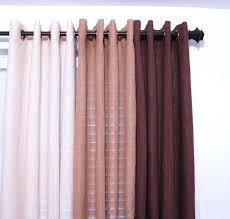 Grommet Burlap Curtains Lined Burlap Grommet Curtains Large Image For Stupendous Burlap