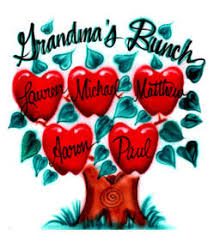 apple tree with family names