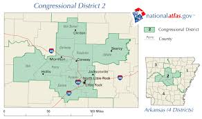 us house of representatives district map for arkansas 114th congressional district wall maps geography us census