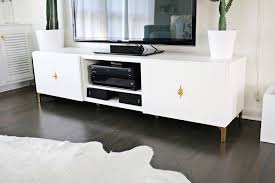ikea credenza hack ikea restyle mid century tv stand u2013 a beautiful mess