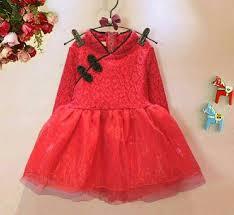 desain baju gaun anak dress anak perempuan desain shanghai model terbaru