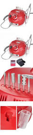 electric files and tools red electric acrylic nail drill manicure