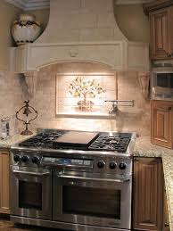 Stone Tile Kitchen Backsplash by 39 Best Tile Murals For Kitchen U0026 Baths Images On Pinterest