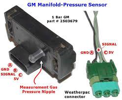 gm map sensor a gm map sensor for measuring manifold pressure tech edge