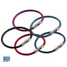 color key rings images Flex o loc cable key ring with ball knob and socket closure jpg