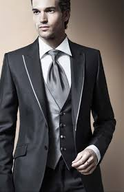 wedding suits shop custom two buttons dress lapel groomsman wedding the