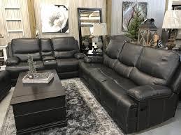 corinthian grey leather reclining sofa furniture u0026 clothing