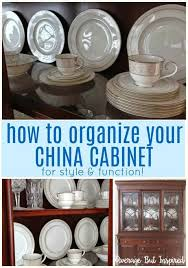 how to arrange dishes in china cabinet tips on how to arrange a china cabinet average but inspired