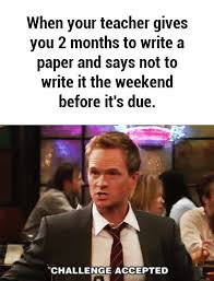 Memes About Writing Papers - 10 stages of writing an essay last minute