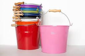 blank easter baskets metal buckets with wood handle metal pail metal basket blank