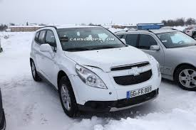 opel antara 2010 scoop gm begins testing mule for new opel antara and chevrolet