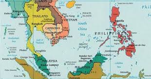 map of asia countries and cities southeast asia map with capitals travel maps and major tourist