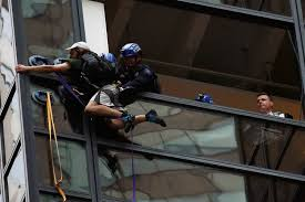 trump tower climber wanted meeting with the presidential candidate